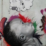 Street Art by William Amaro Costa in São Paulo, Brazil