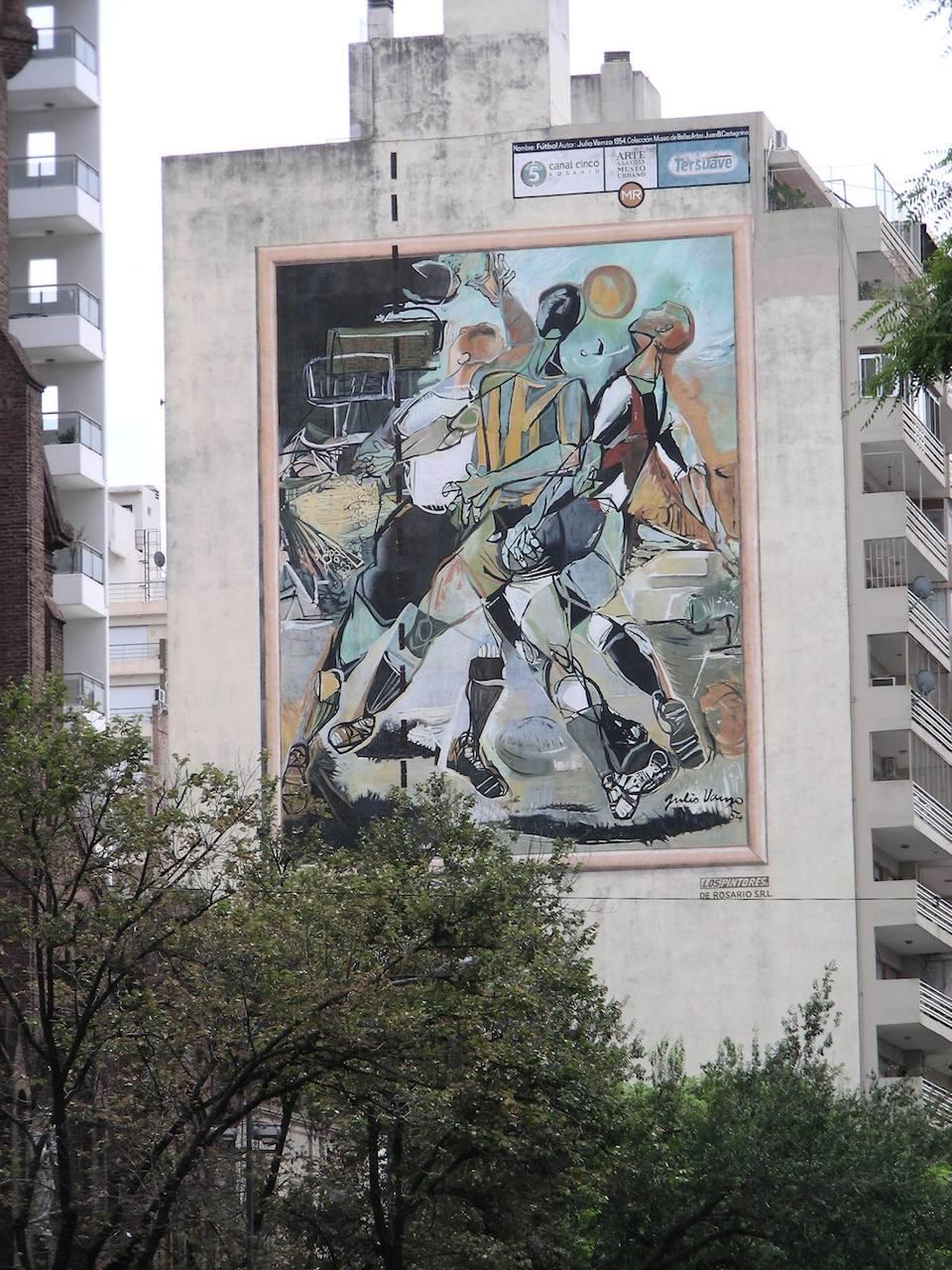 Street Art in Rosario, Argentina 635