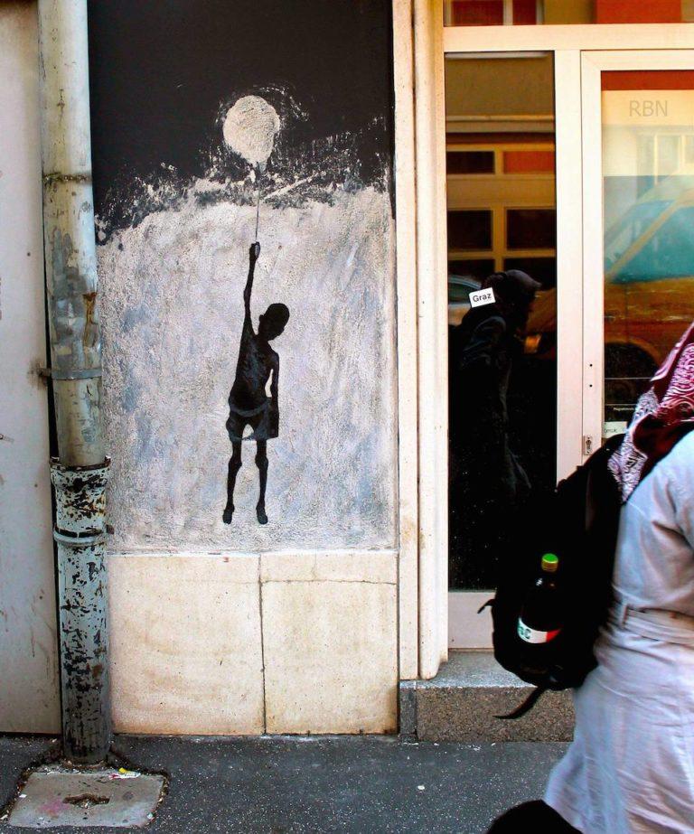 Street Art by Balkan Kru – In Graz, Austria