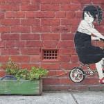 Street Art by Be Free in Melbourne, Austalia 1