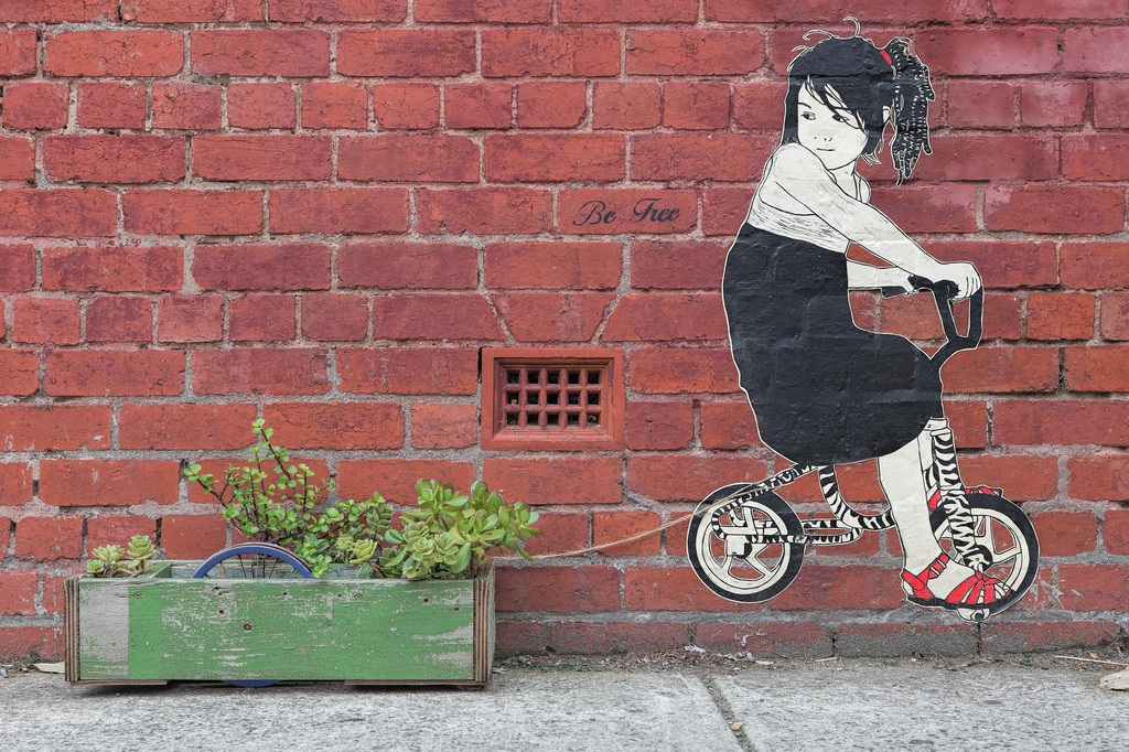Street Art by Be Free in Melbourne, Austalia 1