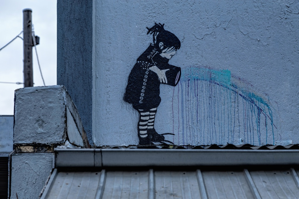 Street Art by Be Free in Melbourne, Austalia 2