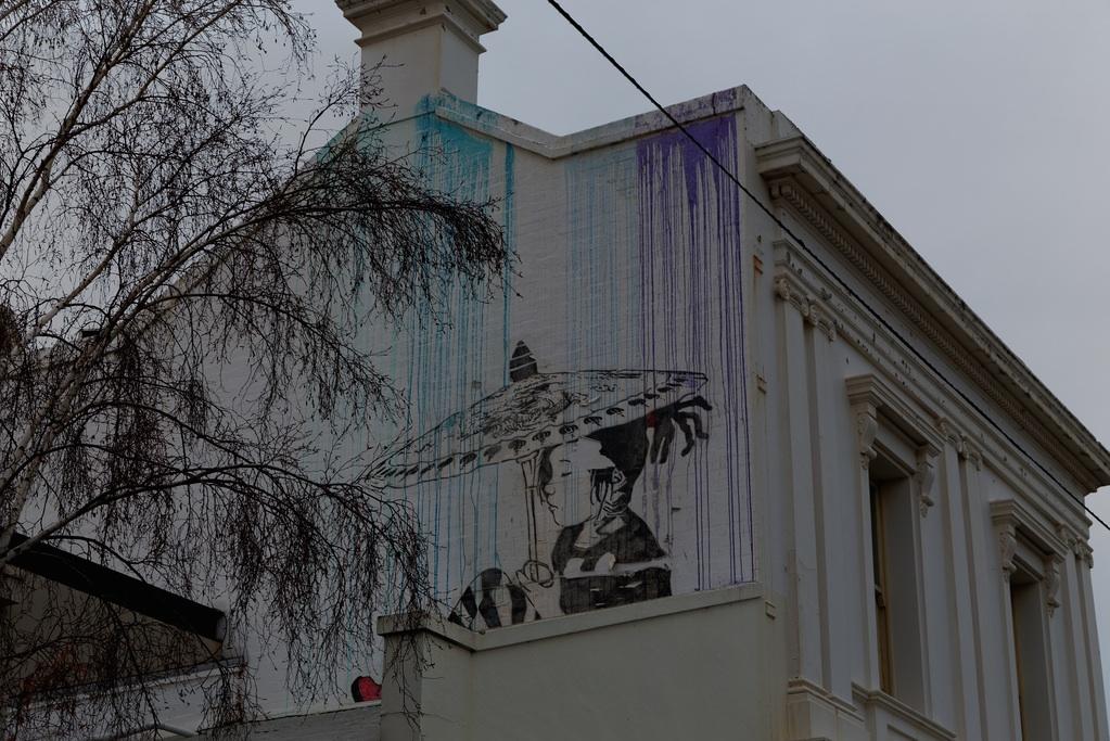 Street Art by Be Free in Melbourne, Austalia 3