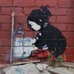 Street Art by Be Free in Melbourne, Austalia 4