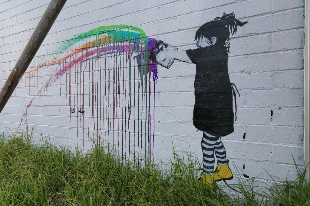 Street Art by Be Free in Melbourne, Austalia 6
