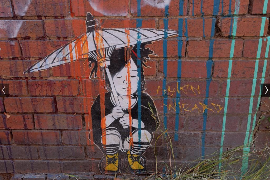 Street Art by Be Free in Melbourne, Austalia 7