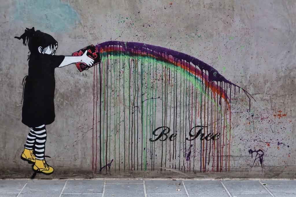 Street Art by Be Free in Melbourne, Austalia 8