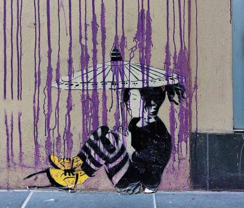Street Art by Be Free in Melbourne, Austalia 9