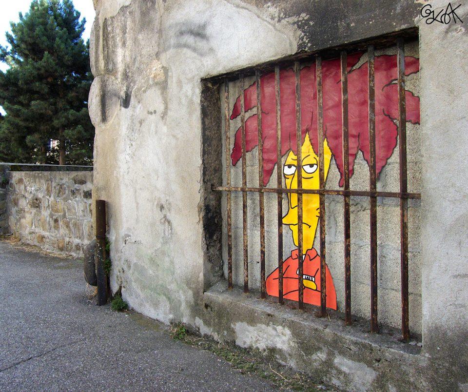 Street Art by Oakoak in France 644675