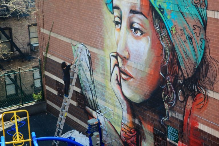 By Alice Pasquini in Jersey City and New York (USA)