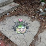 Chalk Art by David Zinn in Michigan, USA 4585678