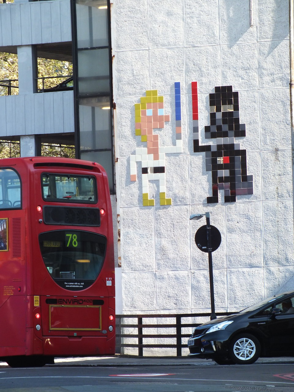 Star Wars street art by Invader in London, England 5
