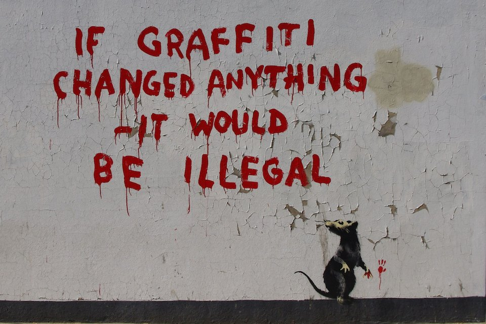 Street Art Collection - Banksy 200