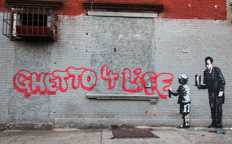 Street Art Collection - Banksy 28