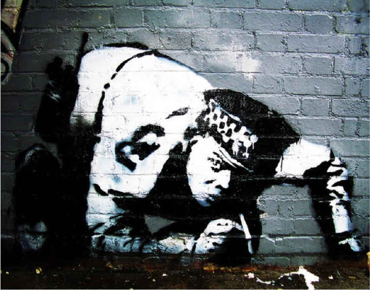 Street Art Collection - Banksy 33