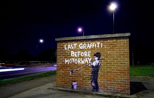 Street Art Collection - Banksy 73