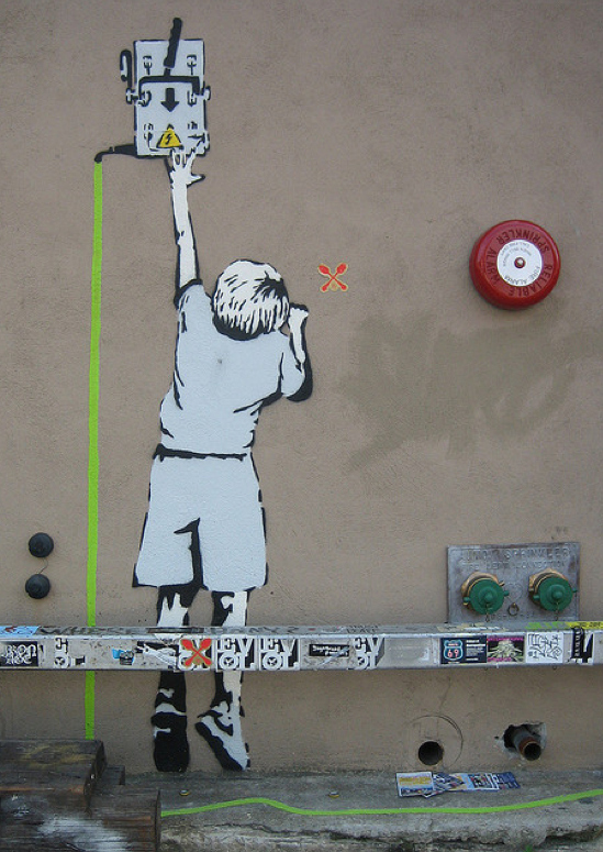 Street Art Collection - Banksy 81