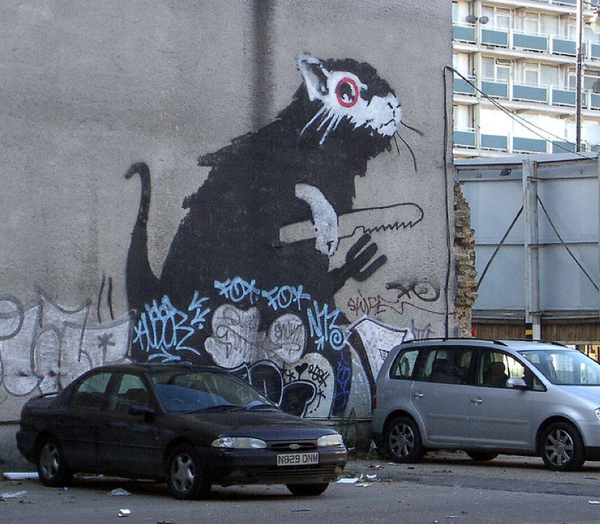 Street Art Collection - Banksy 87
