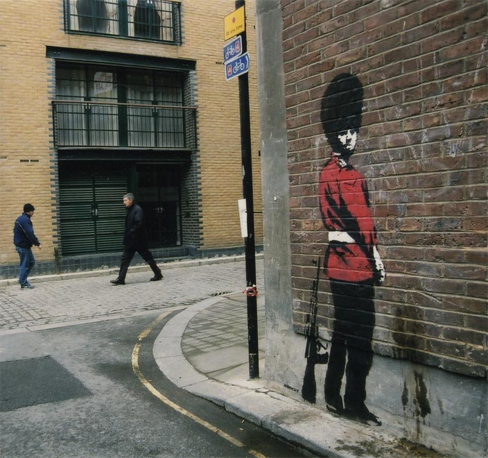 Street Art Collection - Banksy 95