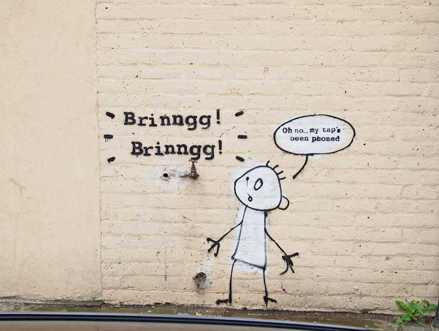Street Art Collection - Banksy 98