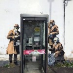Street Art by Banksy in Cheltenham, England