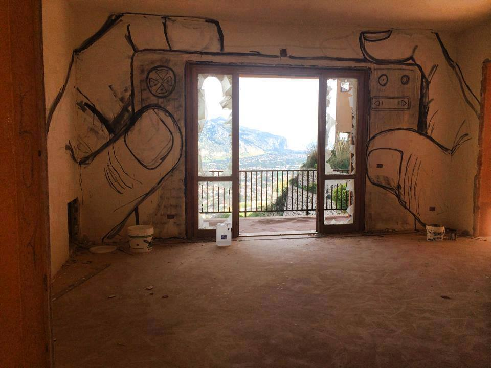 Street Art by Collettivo FX in Palermo, Italy 35t