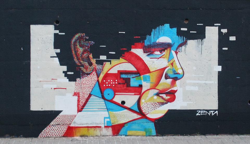 Street Art by Zentaone 3