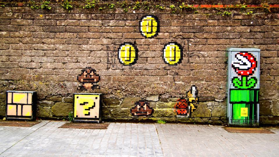 Street Art in Cork City, Ireland 34