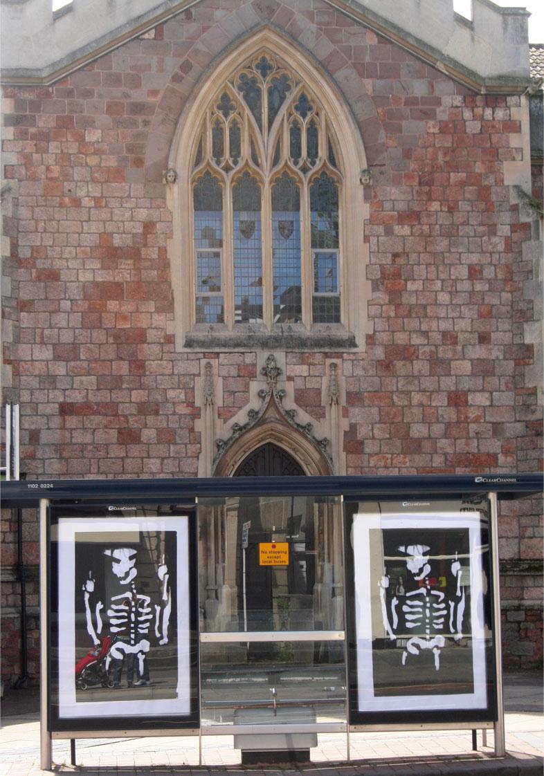 Brandalism - In Bristol. By Anthony Lister 2
