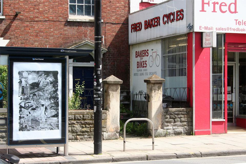 Brandalism - In Bristol. By Gold Peg
