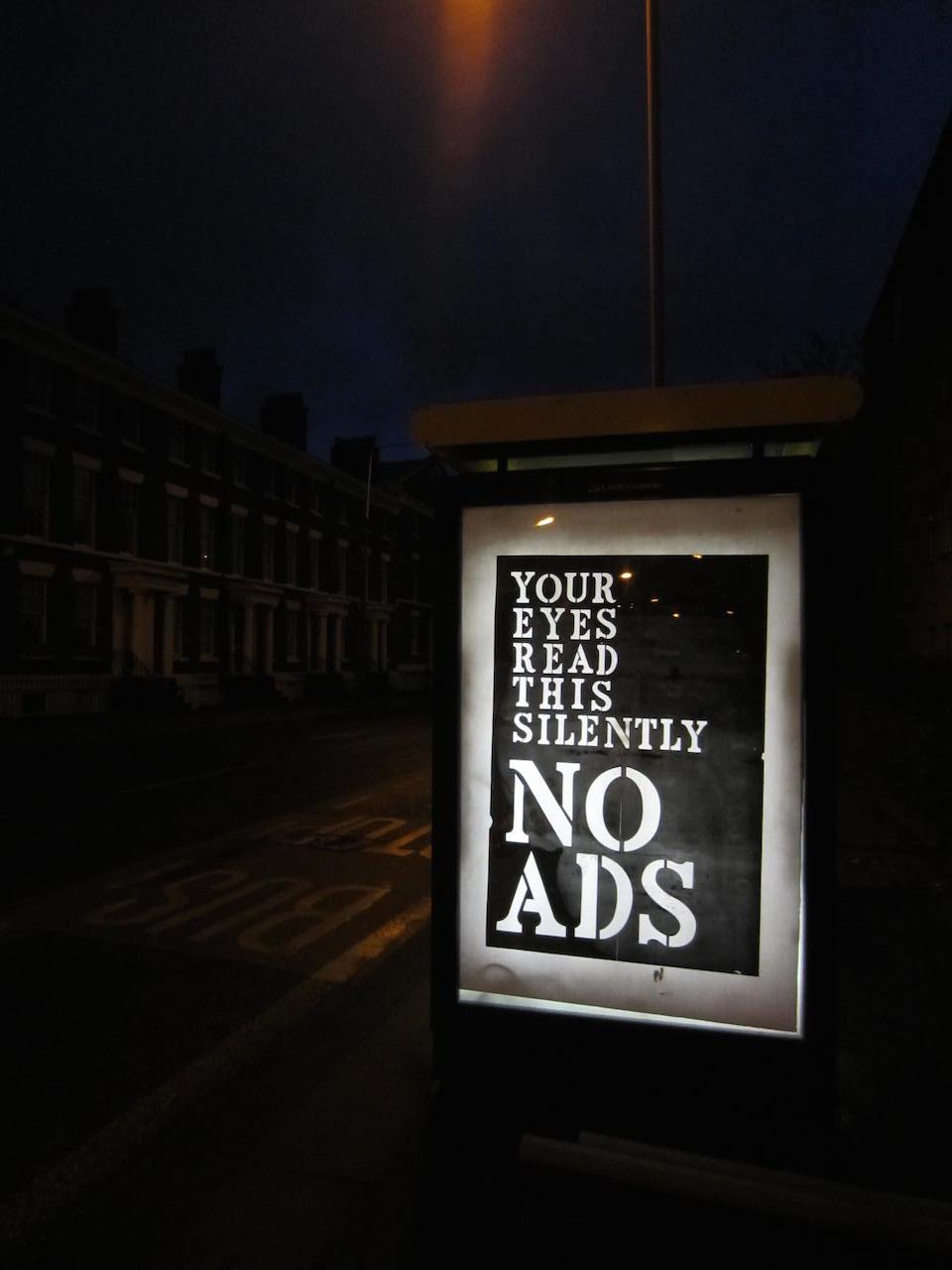 Brandalism - In Liverpool. By John Fekner