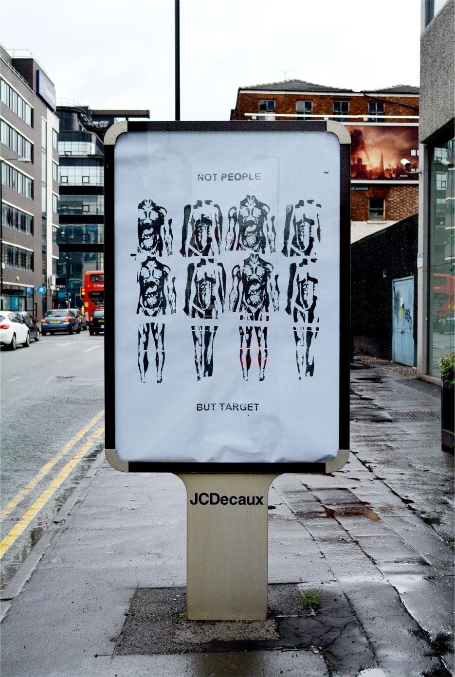 Brandalism - In Manchester. By John Fekner