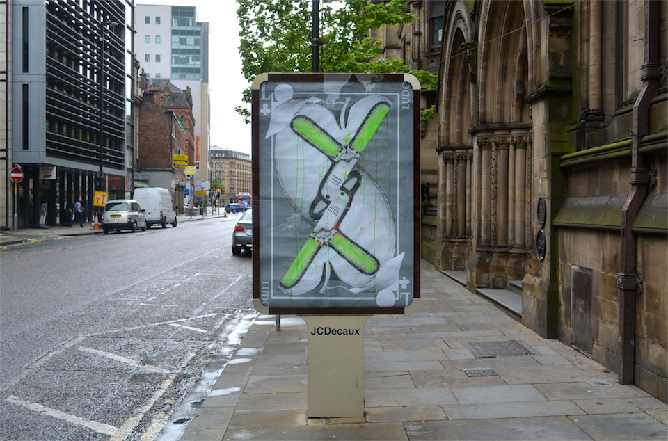 Brandalism - In Manchester. By Ludo