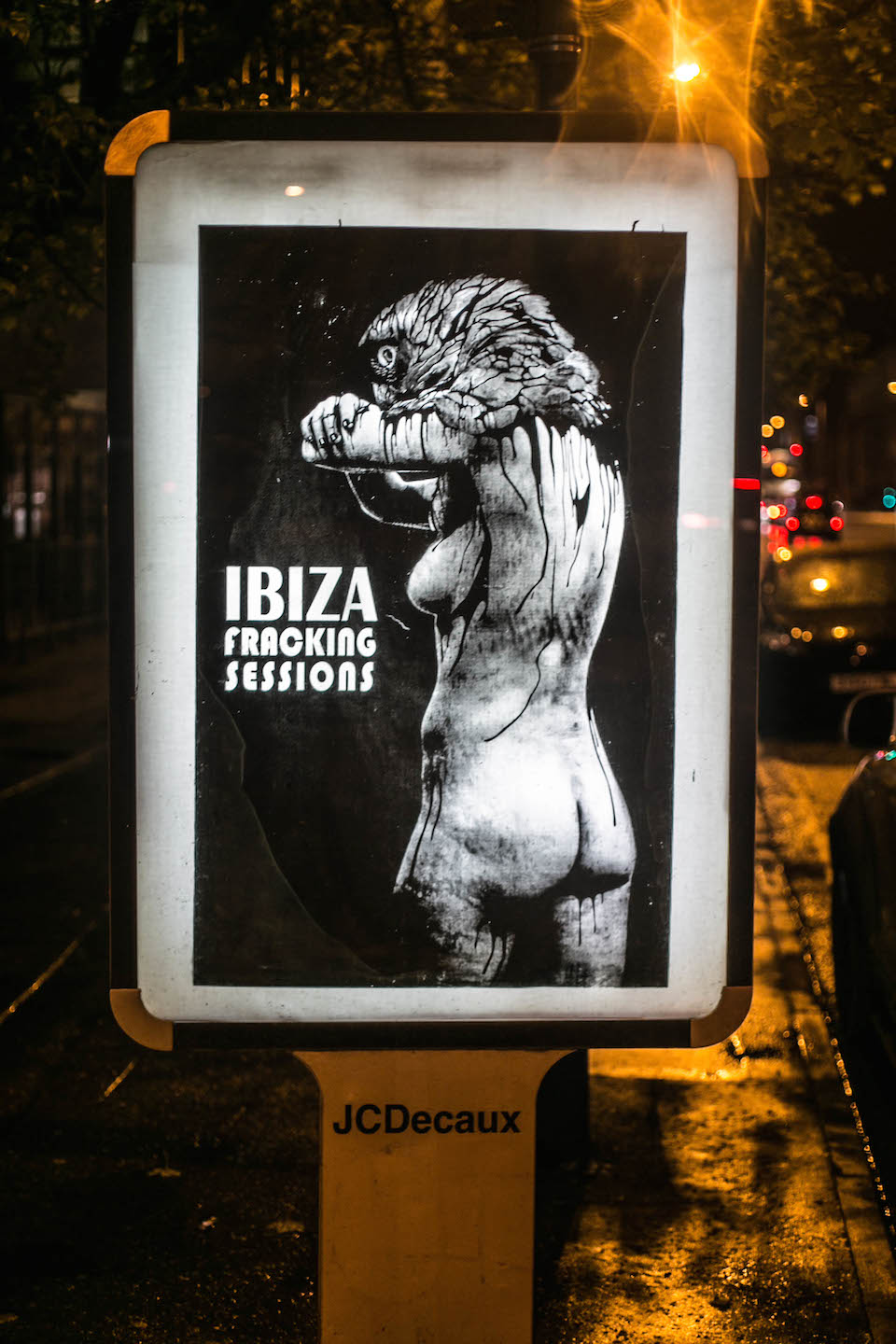 Brandalism - In Manchester. By Vinz Feel Free