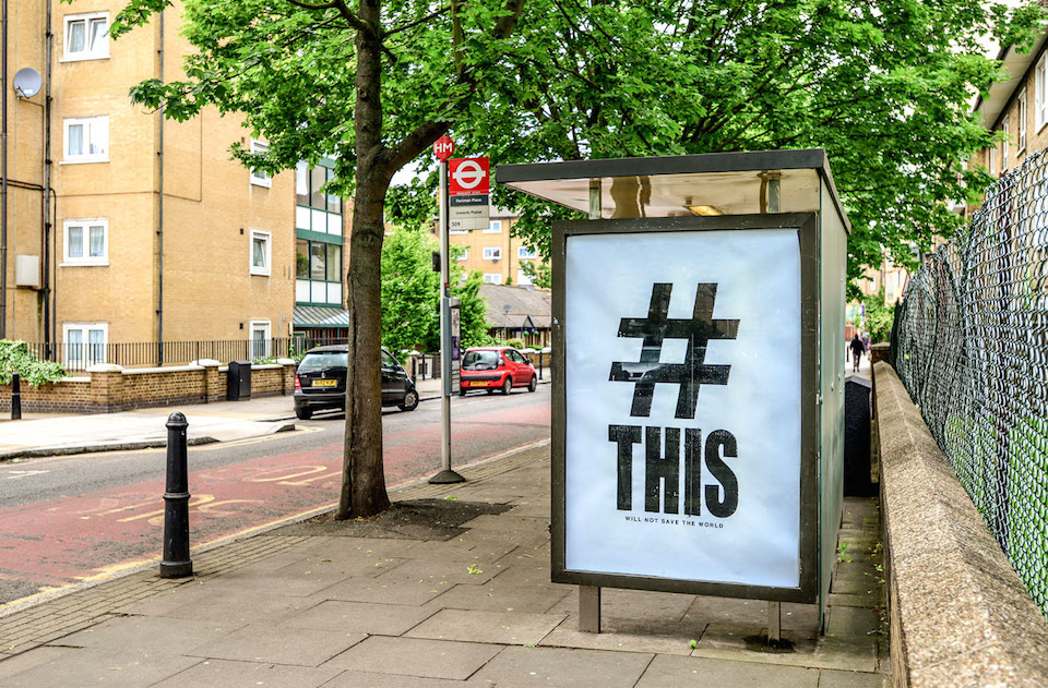 Brandalism - London. By Paul Insect