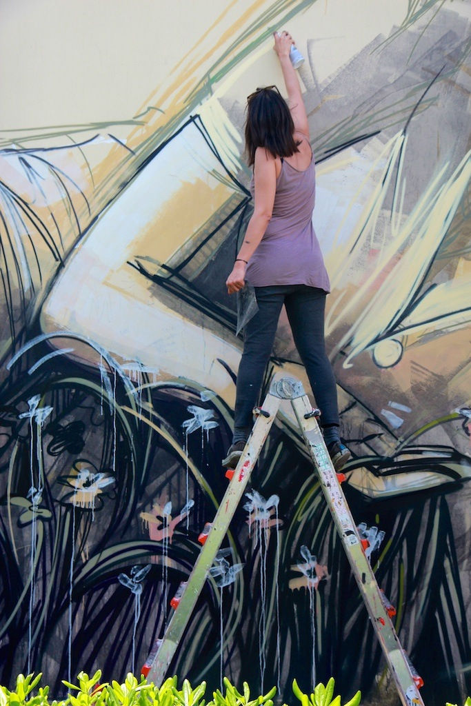 By Alice Pasquini in Itri, Italy for the Memorie Urbane Festival 3