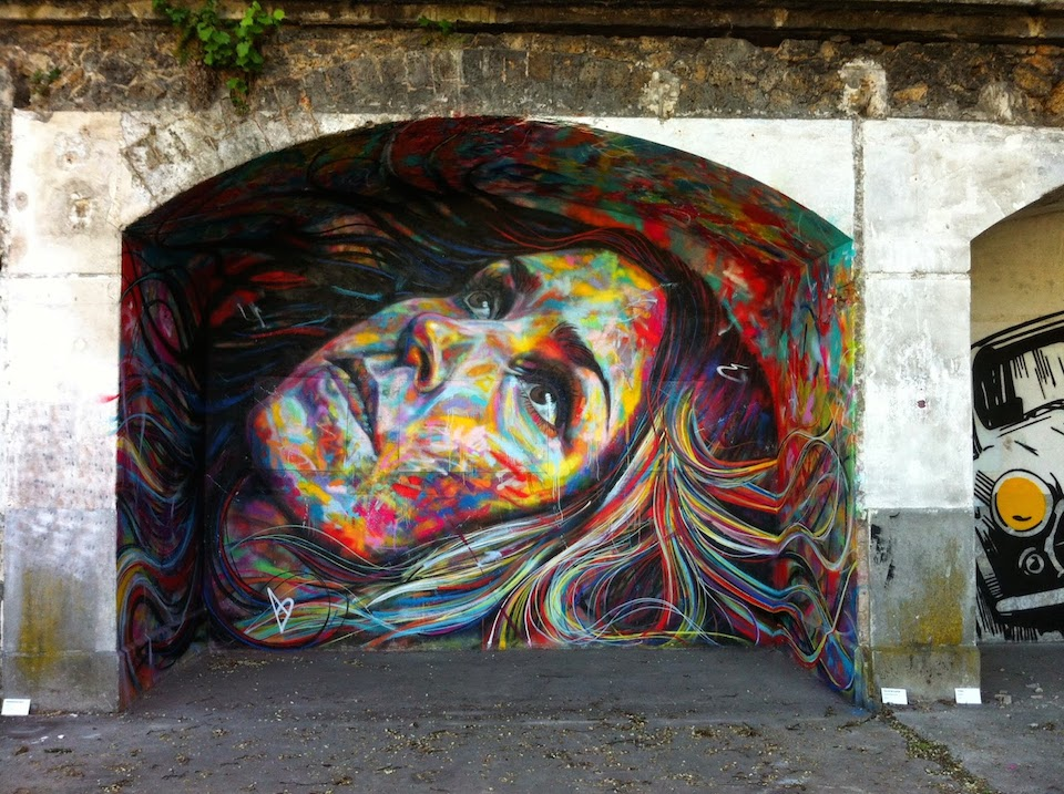 Street Art by David Walker at IN SITU Art Festival - Aubervilliers, France 1
