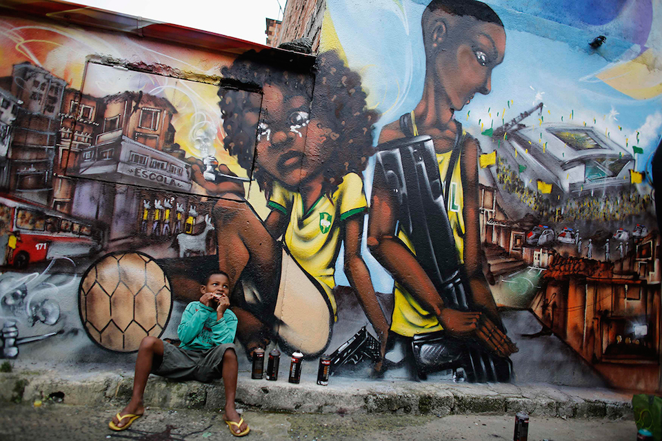 BRAZIL-WORLDCUP/GRAFFITI