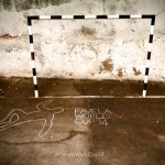 Street Art FIFA World Cup in Rio de Janeiro, Brazil, – #FavelaWorldCup14