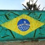 Street Art FIFA World Cup in Rio de Janeiro, Brazil, – Fuck the World Cup