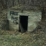 Street Art Free Hugs