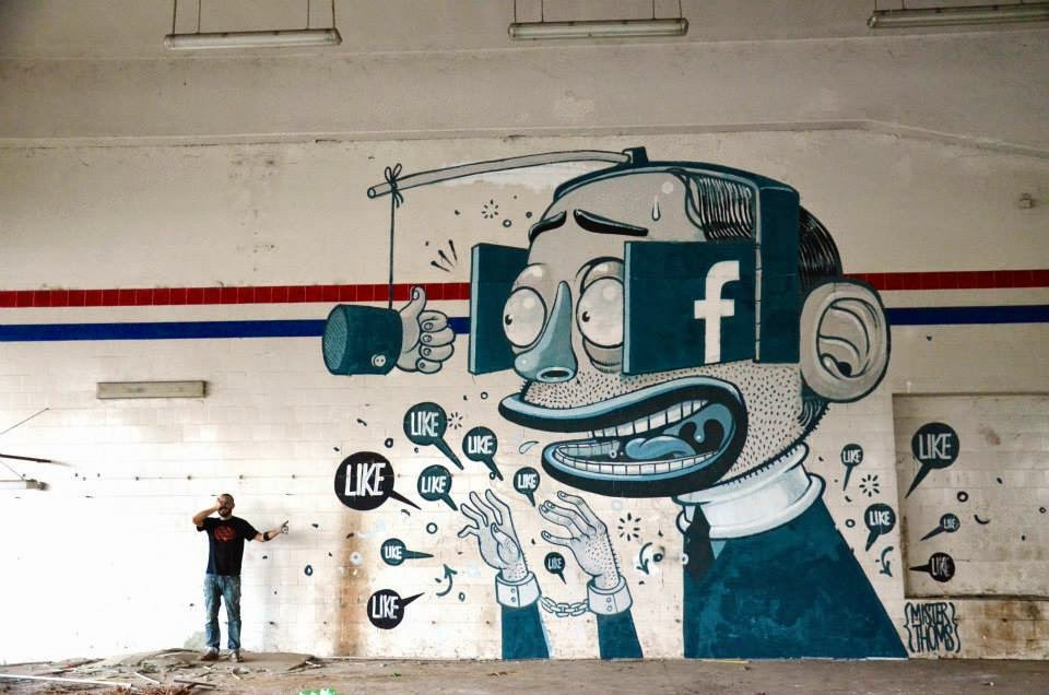 Mural by Mr Thoms in Ferentino, Italy