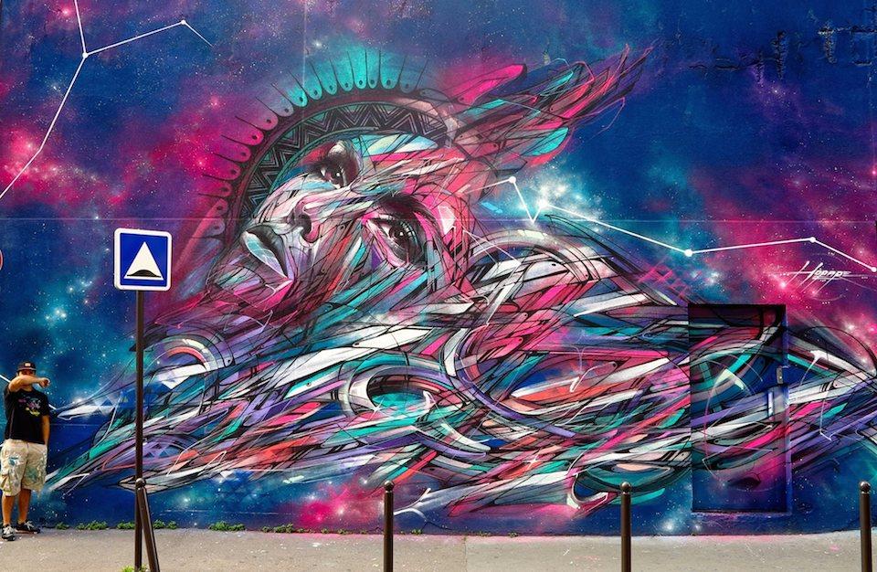 Street Art by Hopare in Paris, France 2014 456457