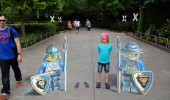3D Street Art by Leon Keer at Legoland 2014 1