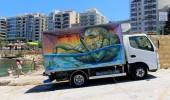 By Wild Drawing in Malta Sliema Street Art Festival