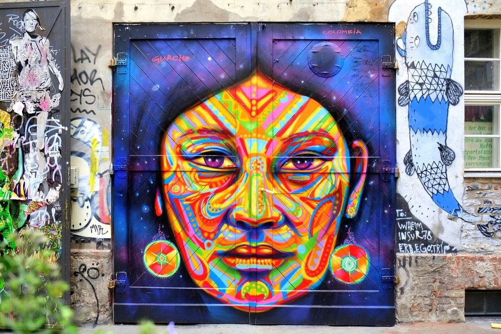 Street Art por Guashe em Berlim, Alemanha 8678567