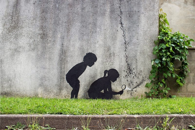Street Art by Pejac in Paris, France 2