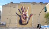 Unter Der Hand - Street Art by Case in Berlin, Germany