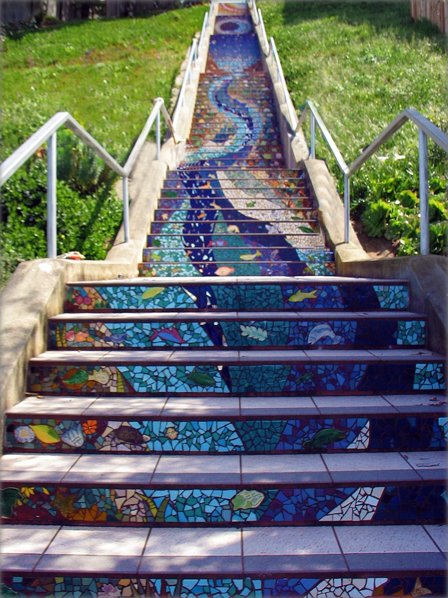 Mosaic in San Francisco - By Aileen Barr and Colette Crutcher