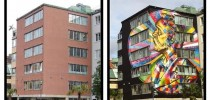 Street Art by Eduardo Kobra in Borås, Sweden 2